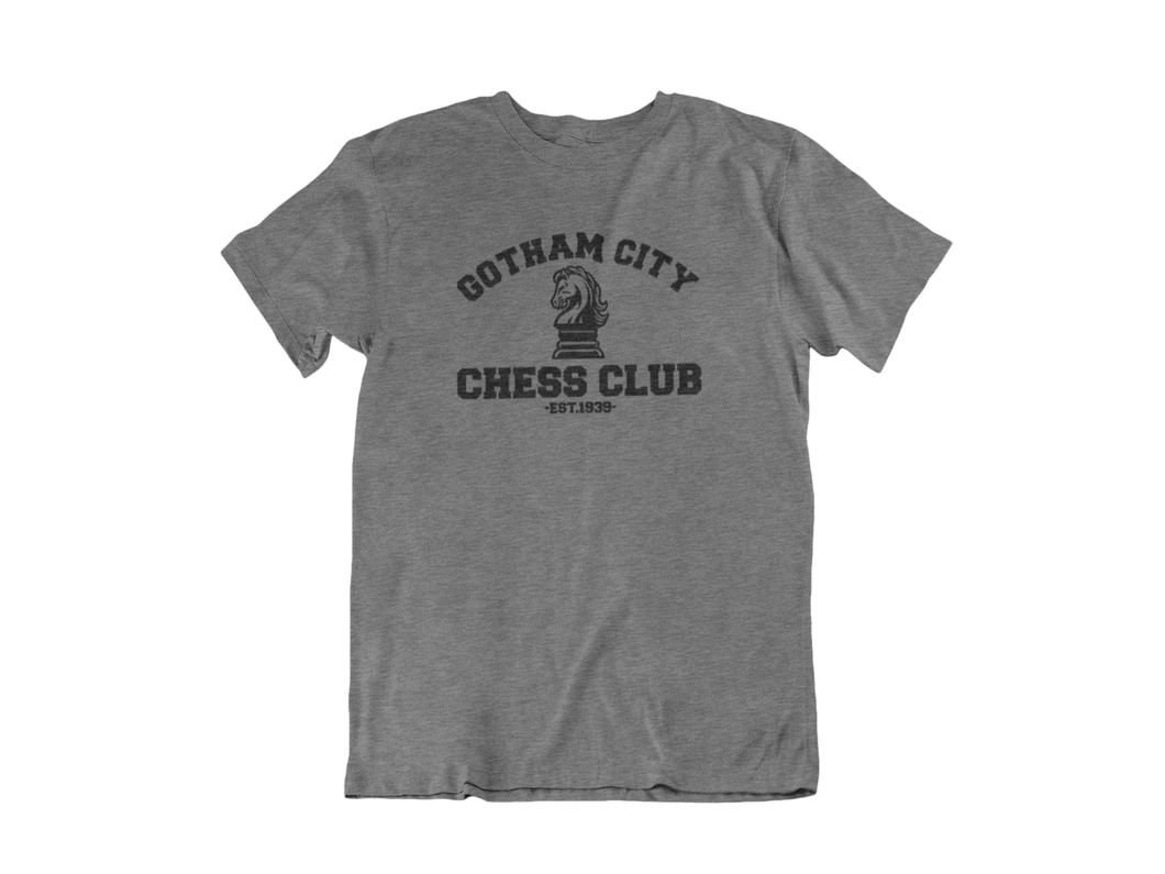 Batman - Gotham City Chess Club - Unisex short sleeve T-Shirt