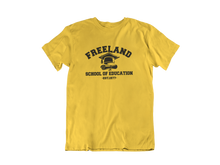 Load image into Gallery viewer, Black Lightning - Freeland School of Education - Unisex short sleeve T-Shirt