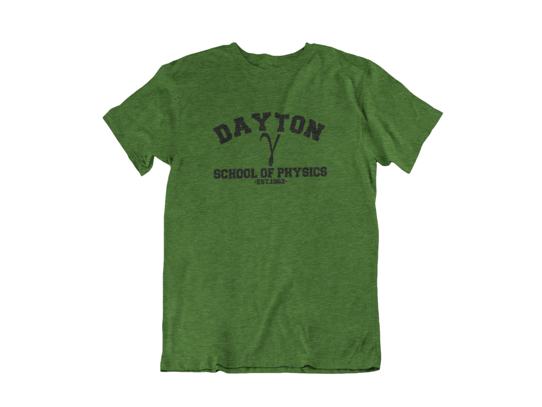 Hulk - Dayton School of Physics - Unisex short sleeve T-Shirt