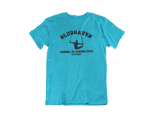 Load image into Gallery viewer, Nightwing - Bludhaven School of Acrobatics - Unisex short sleeve T-Shirt
