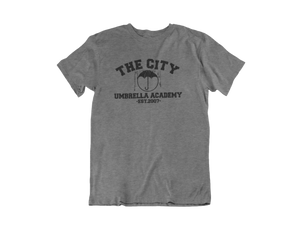 Umbrella Academy  - The City Umbrella Academy - Unisex short sleeve T-Shirt