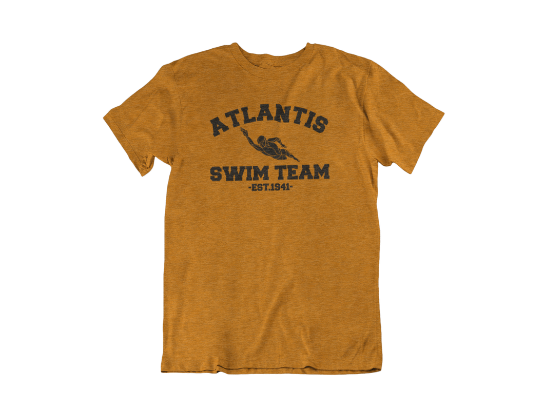 Aquaman - Atlantis Swim Team - Unisex short sleeve T-Shirt