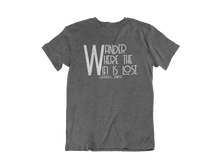 Load image into Gallery viewer, Wander Where the WiFi is Lost - Gatlinburg TN - Unisex short sleeve T-Shirt