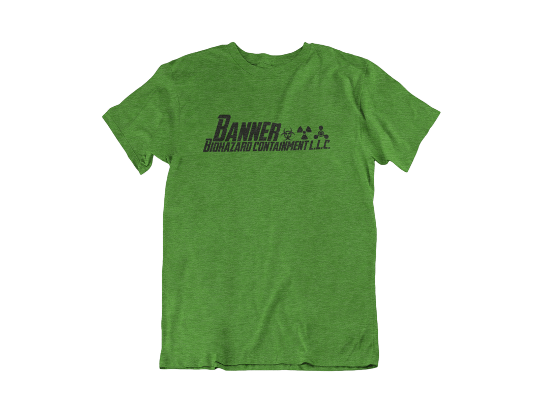 Banner Biohazard Containment L.L.C - Hulk - Unisex short sleeve T-Shirt