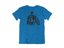 Load image into Gallery viewer, Captain America With Thor's Hammer - Unisex short sleeve T-Shirt