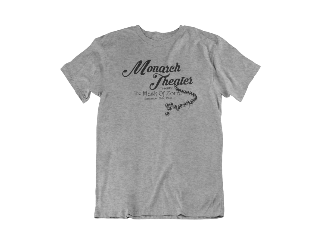 Monarch Theater - Unisex short sleeve T-Shirt