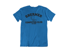 Load image into Gallery viewer, Weird Science - Shermer Computer Club  - Unisex short sleeve T-Shirt