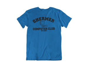 Weird Science - Shermer Computer Club  - Unisex short sleeve T-Shirt