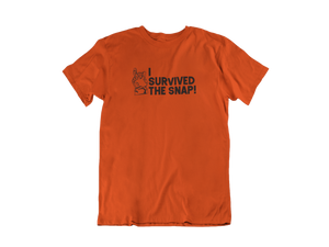 I survived the Snap - Thanos / Avengers - Unisex short sleeve T-Shirt