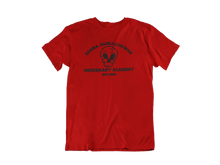 Load image into Gallery viewer, Deadpool - Regina Saskatchewan Mercenary Academy  - Unisex short sleeve T-Shirt