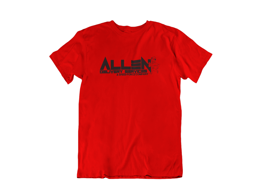 Allen Delivery Service - Flash - Unisex short sleeve T-Shirt