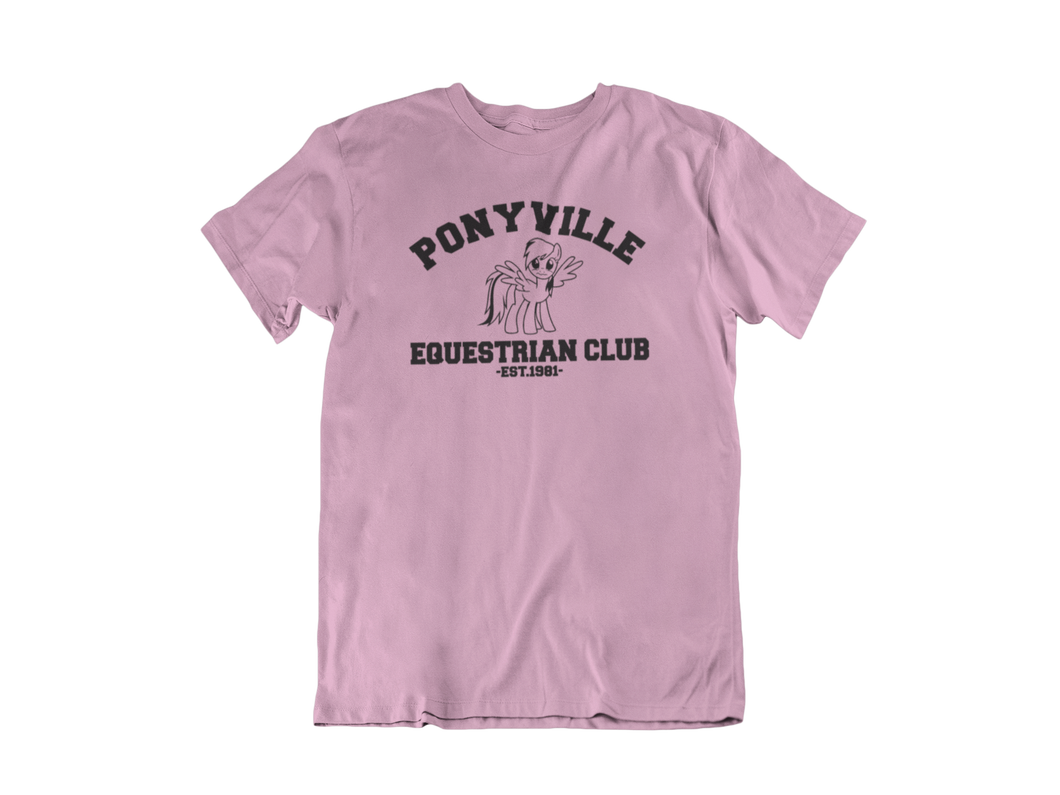 My Little Pony - Ponyville Equestrian Club  - Unisex short sleeve T-Shirt