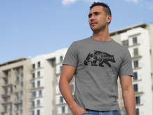 Load image into Gallery viewer, 3 Star Bear - Gatlinburg TN - Unisex short sleeve T-Shirt