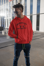 Load image into Gallery viewer, Red Hood Hoodie - Gotham City Crime Alley Society - Unisex Adult Hoodie