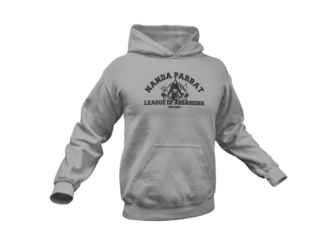 League of Assassins Hoodie - Nanda Parbat League of Assassins - Unisex Adult Hoodie