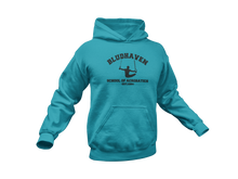 Load image into Gallery viewer, Nightwing Hoodie - Bludhaven School of Acrobatics - Unisex Adult Hoodie
