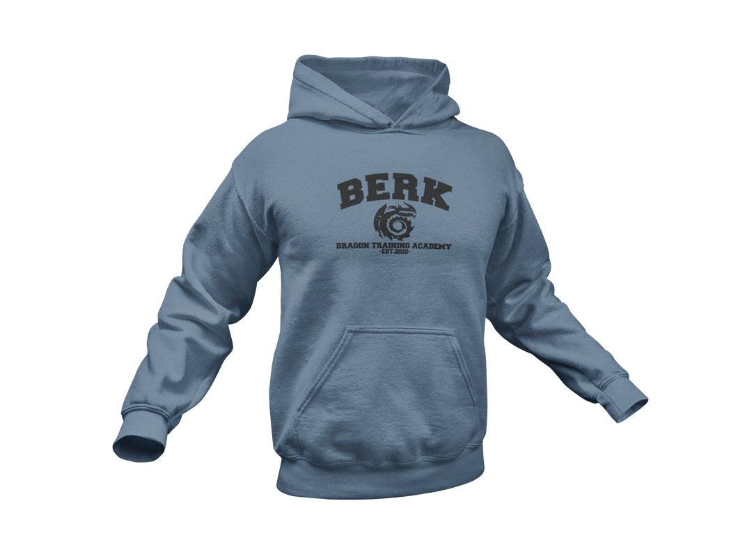 How To Train Your Dragon Hoodie - Berk Dragon Training Academy - Unisex Adult Hoodie