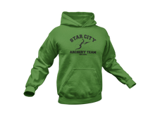 Load image into Gallery viewer, Green Arrow Hoodie - Arrow Hoodie - Star City Archery Team - Unisex Adult Hoodie