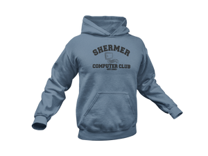 Weird Science - Shermer Computer Club - Adult Unisex Hoodie