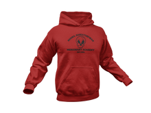 Load image into Gallery viewer, Deadpool Hoodie - Regina Saskatchewan Mercenary Academy - Unisex Adult Hoodie