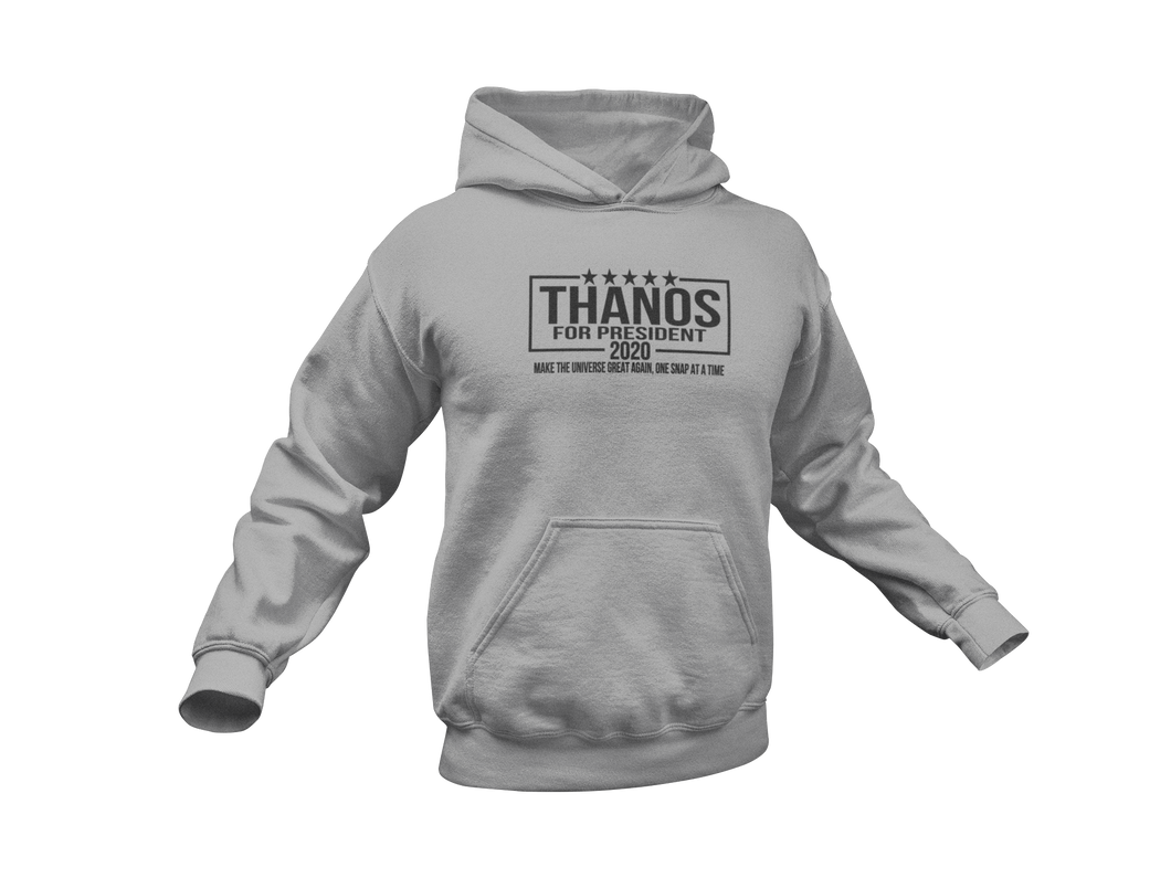 Thanos For President - Thanos 2020 - Adult Unisex Hoodie