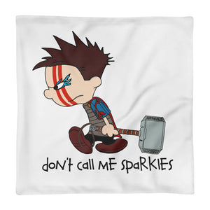 Thor Meets Calvin & Hobbes. Mashup style pillowcase