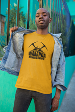 Load image into Gallery viewer, Wakanda Miners Union - Unisex short sleeve T-Shirt