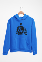 Load image into Gallery viewer, Captain America with Mjolnir - Captain America Worthy - Adult Unisex Hoodie
