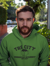 Load image into Gallery viewer, Umbrella Academy Hoodie - The City Umbrella Academy - Adult Unisex Hoodie