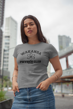 Load image into Gallery viewer, Black Panther - Wakanda Physics Club - Unisex short sleeve T-Shirt