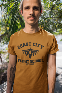 Green Lantern - Coast City Flight School - Unisex short sleeve T-Shirt