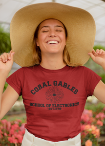 Ant Man - Coral Gables School of Electronics - Unisex short sleeve T-Shirt