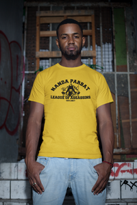 League of Assassins - Nanda Parbat League of Assassins - Unisex short sleeve T-Shirt