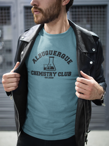 Breaking Bad - Albuquerque Chemistry Club - Unisex short sleeve T-Shirt