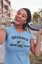 Load image into Gallery viewer, The Flintstones - Bedrock Bowling Team - Unisex short sleeve T-Shirt
