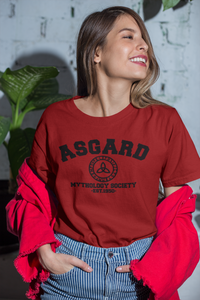 Thor - Asgard Mythology Society - Unisex short sleeve T-Shirt