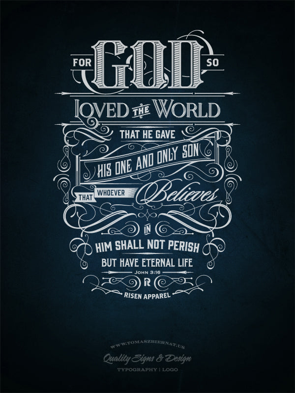 Inspirational bible quotes make stunning typography