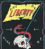 'Give me liberty of give me death' typography poster