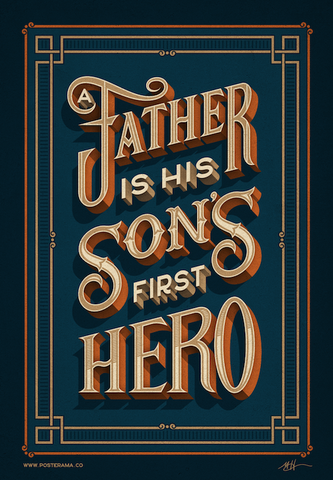 A Father is his sons first hero poster 2