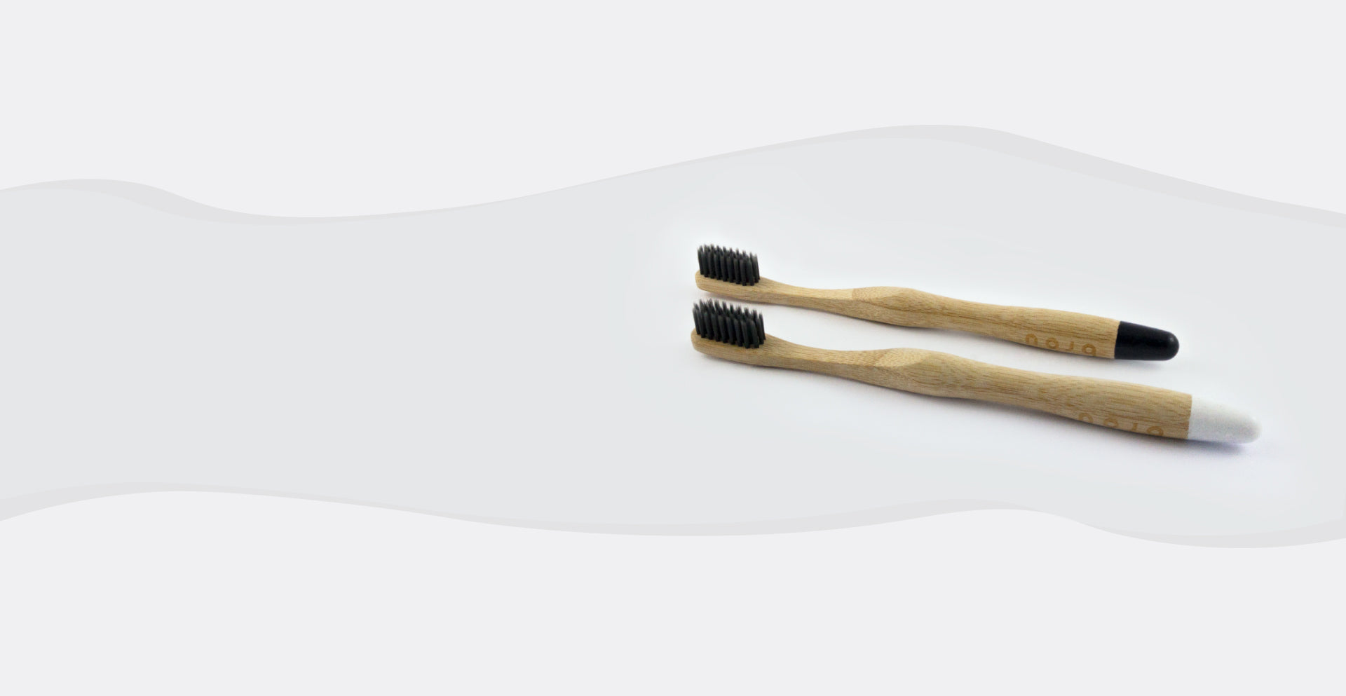 BROU natural eco friendly bamboo toothbrush