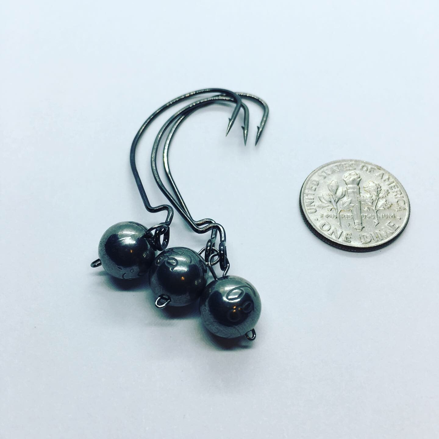 Tungsten Wobble Heads - 6 Gram/Gurza Worm 310 LE size 1/O