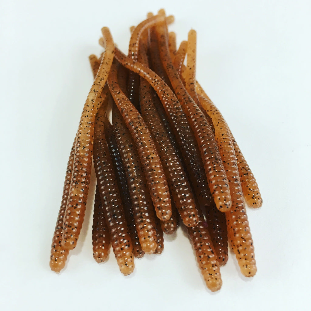 Trout Worms: Carolina Pumpkin Seed