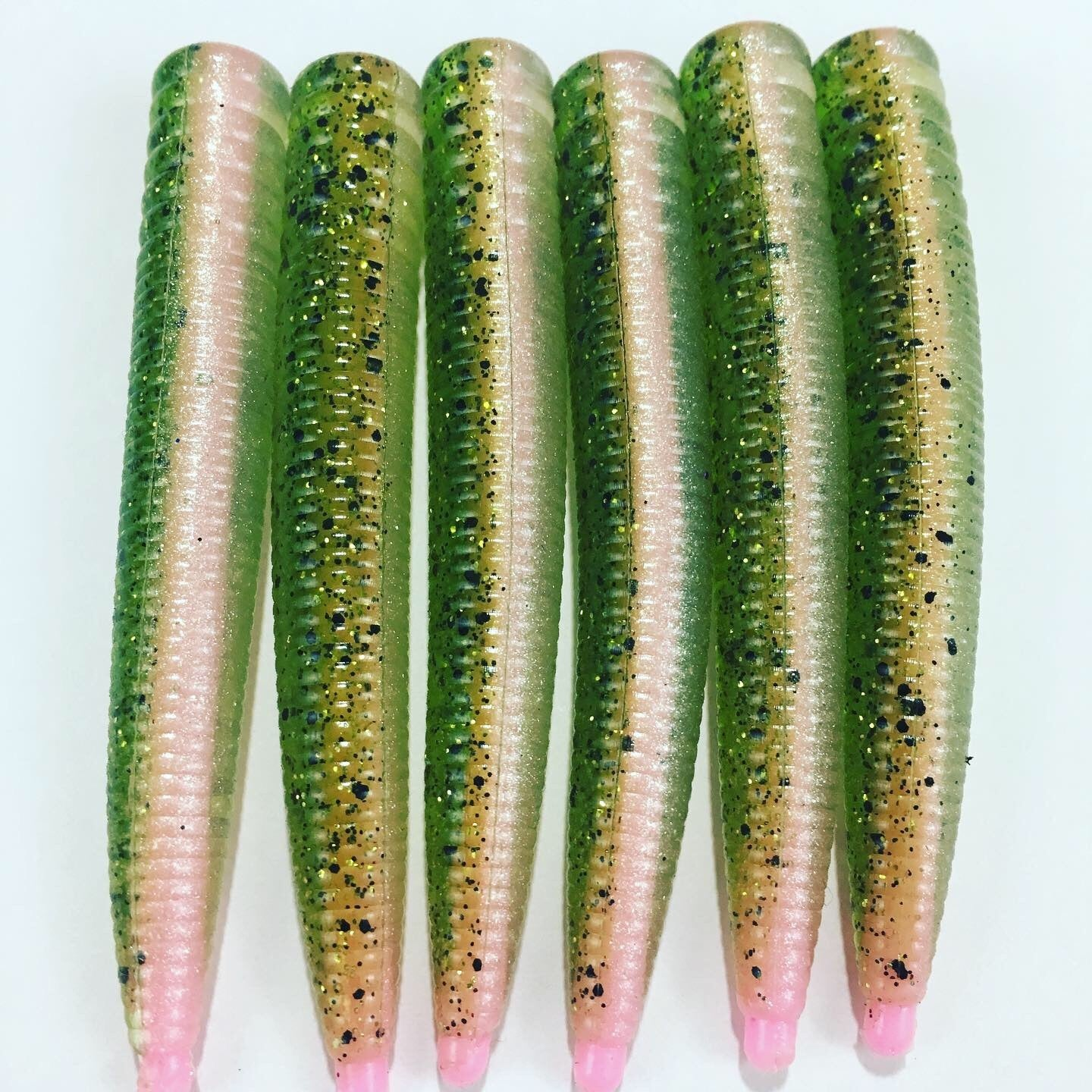 Mini Fat Worms: Rainbow Trout