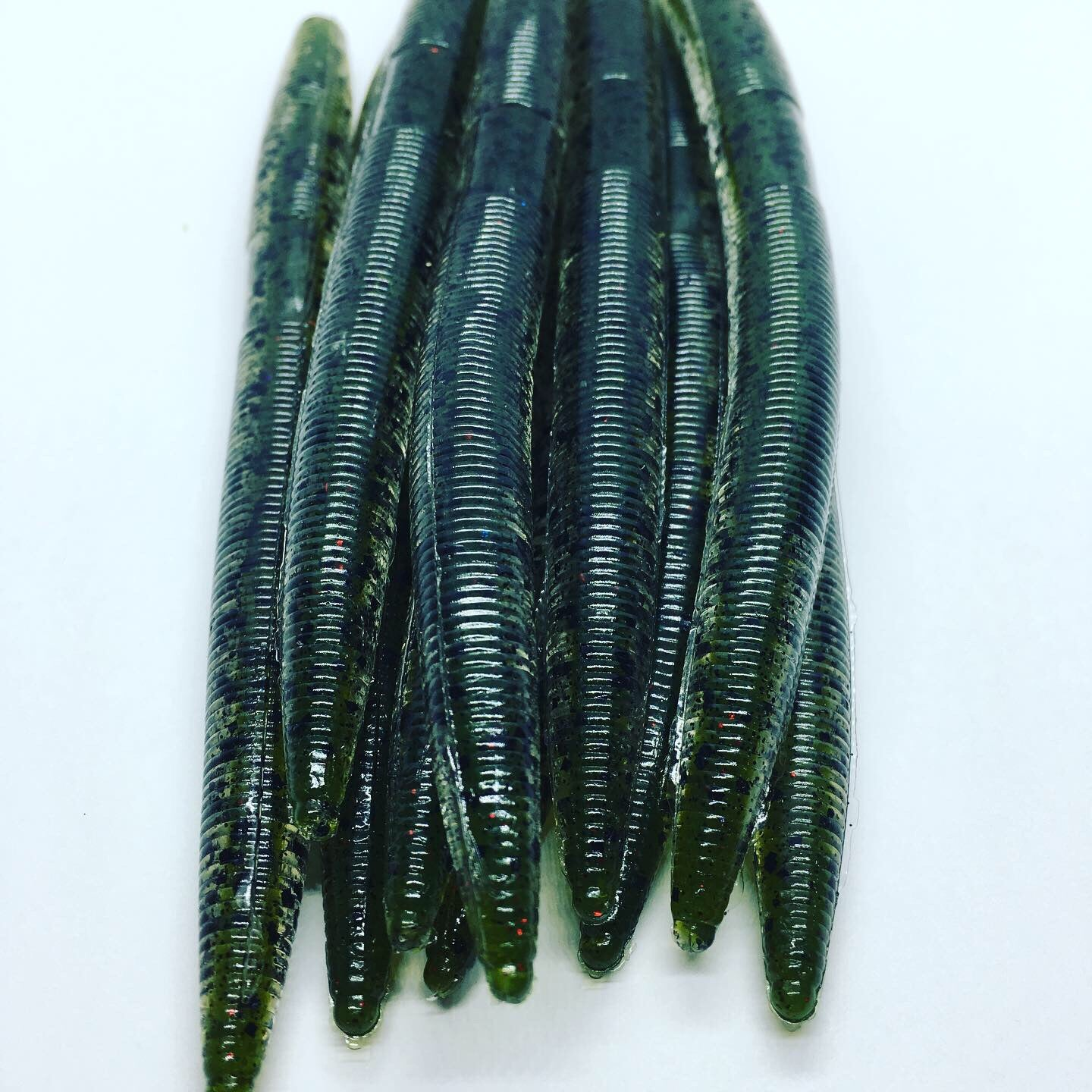 Mini Fat Worms: Green Pumpkin Blood