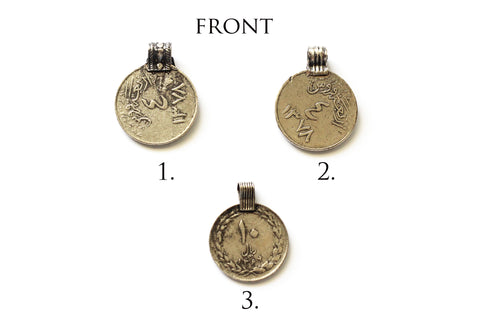 Copy of Aria Coin Charms (SILVER)