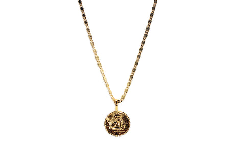 Cherub Coin Necklace