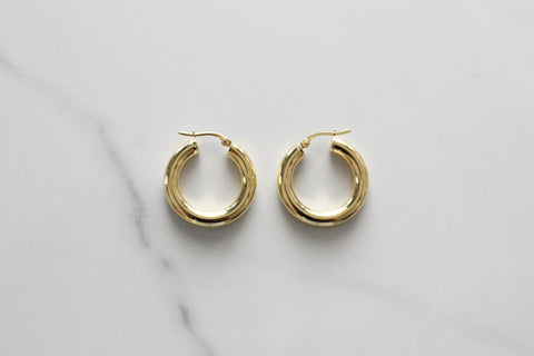 Lumma Hoop Earrings-XS