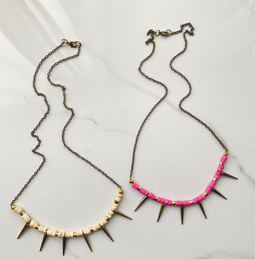Spiked Necklace (SAMPLE SALE)