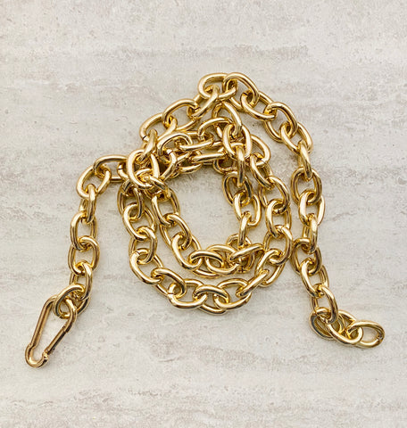 Open Link Collar Chain