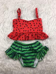 Kids watermelon 2pc swim